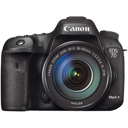 EOS 7D Mark II w/ EF-S 18-135mm f/3.5-5.6 IS STM With W-E1 Adapter, and EOS Accessory Kit