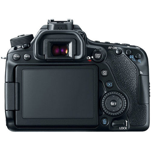 EOS 80D with EF-S18-55mm f/3.5-5.6 IS STM Lens With Bonus EOS Accessory Kit