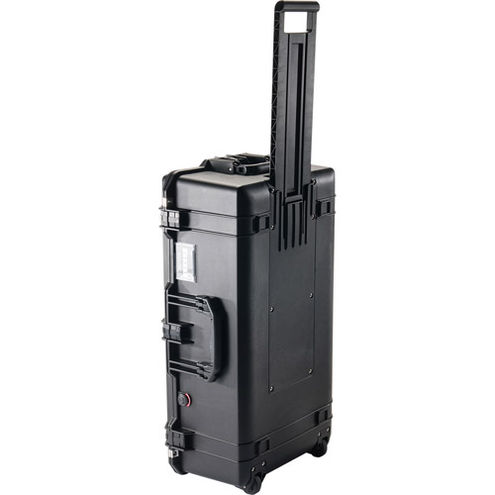 1615 Air Case Black w/Padded Dividers w/Wheels