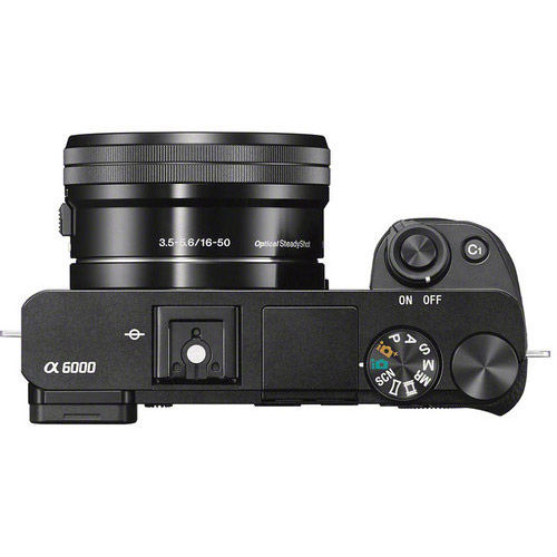 Alpha A6000 Mirrorless Kit w/ SEL 16-50mm PZ & SEL 55-210mm Lenses