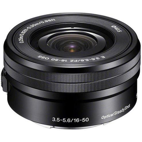 Alpha A6000 Mirrorless Black Kit w/ SEL 16-50mm PZ & SEL 55-210mm Lenses