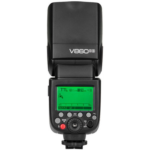 V860 II Flash Kit -Sony includes Li-On Battery, Charger, Case