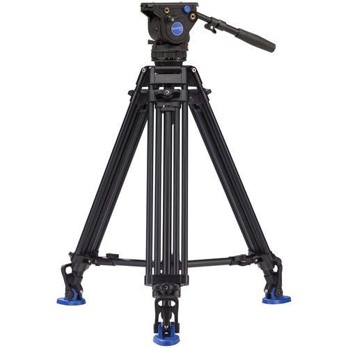 BV4PRO Aluminum Video Tripod Kit - Dual Stage with BV4H Video Head, A673TM Legs and Bag