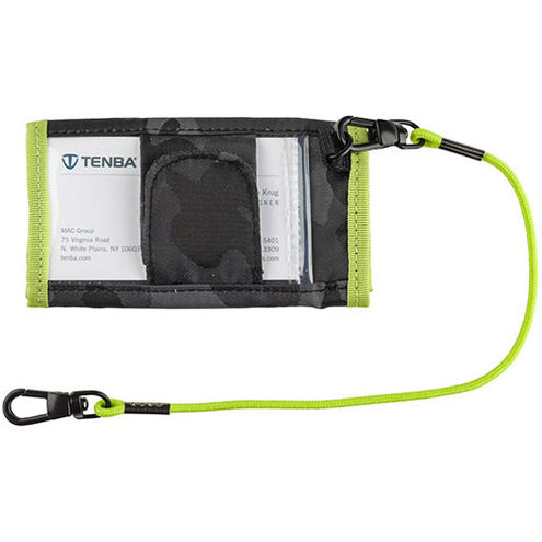 Tools Reload SD6 + CF6 Card Wallet - Black Camo/ Lime