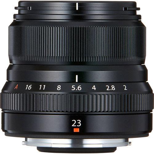 Fujinon XF 23mm f/2.0 R WR Lens
