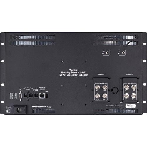 "Quad View 17"" Native Resolution 4K quad 3GSDI (IMD)"