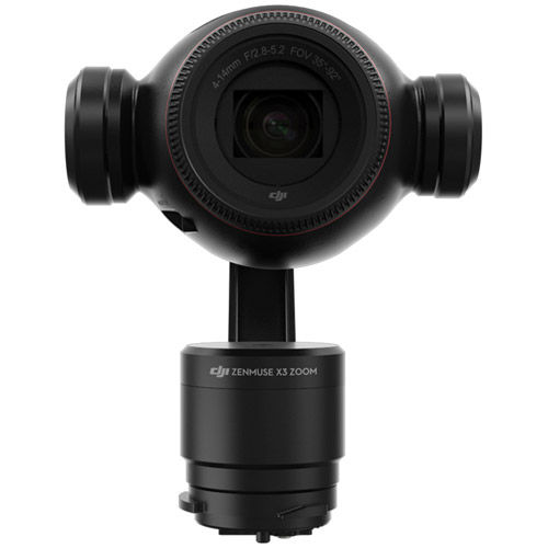 Zenmuse X3 Zoom, With 3.5 Optical and 2x Digital Zoom. CAMERA/GIMBAL ONLY
