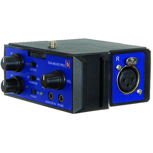DXA-MICRO PRO 2 Channel Active Audio Adaptor with XLR