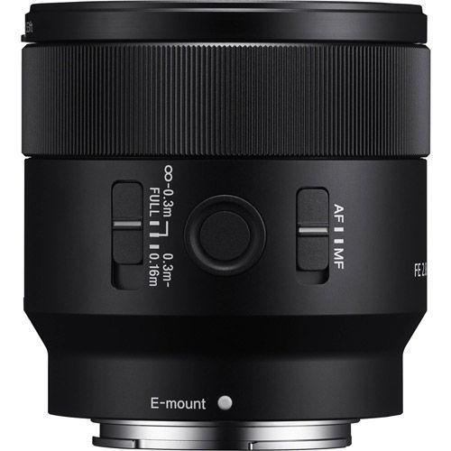 SEL FE 50mm f/2.8 Macro E-Mount Lens