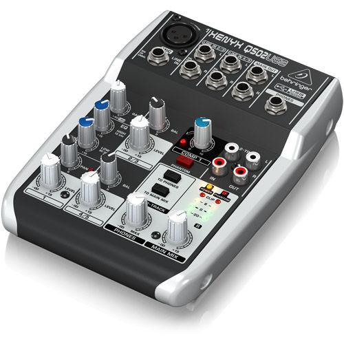Premium 5-Input 2-Bus Mixer