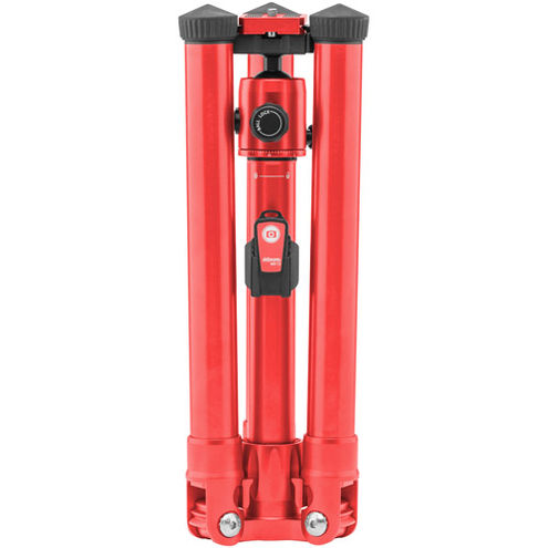 Globetrotter Air Travel Tripod Kit - Red