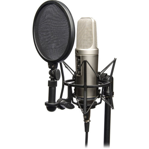 NT2-A Studio Solution Package (Incl: SM6 & Pop Filter,XLR Cable,Dust Cover and Instructional DVD)