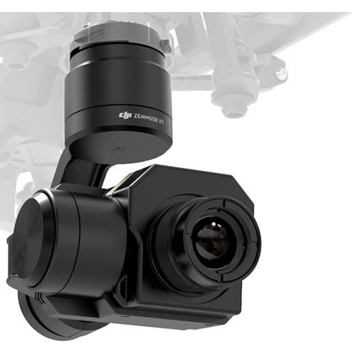 Zenmuse XT Thermal Imaging Camera and Gimbal 9Hz, 640x512 Resolution, 9mm Lens