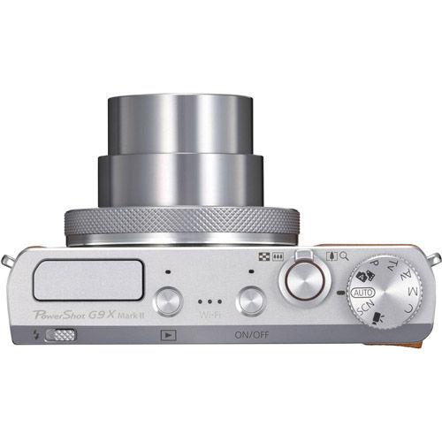 Powershot G9X Mark II - Silver