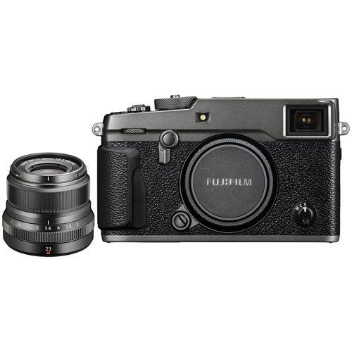 Fujifilm X-PRO2 Mirrorless Kit Graphite w/ XF 23mm f/2 0 R WR Graphite Lens