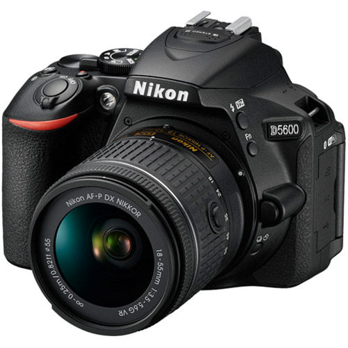 D5600 Kit w/ AF-P DX NIKKOR 18-55mm VR Lens