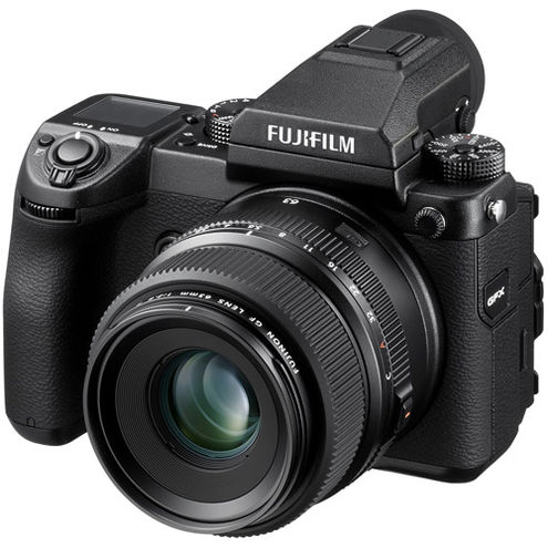 GFX 50s Medium Format Mirrorless Body (no lens) 51.4 MP