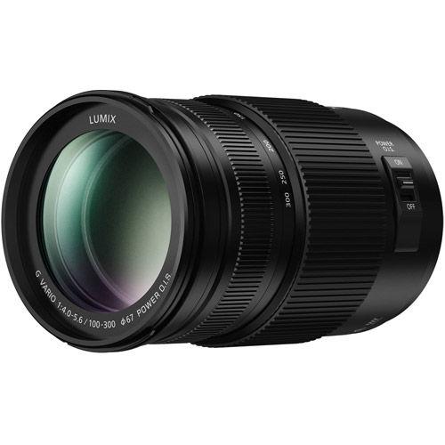 Lumix G Vario 100-300mm f/4.0-5.6 II ASPH Power OIS Lens