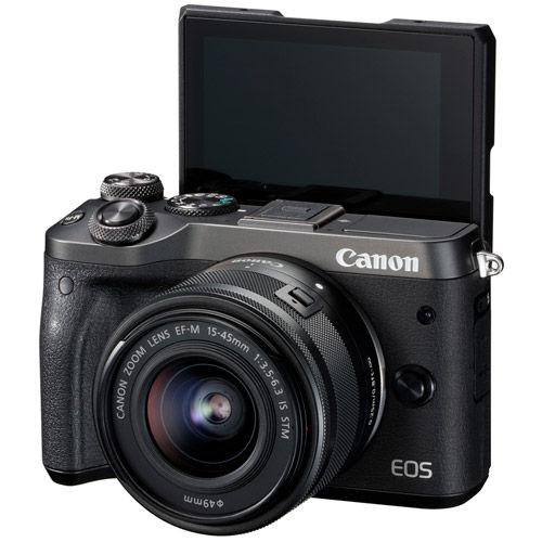 EOS M6 Kit w/ EF-M 15-45mm f/3.5-6.3 IS STM Black