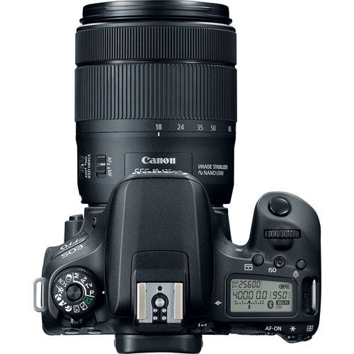 EOS 77D Kit w/ EF-S 18-135mm f/3.5-5.6 IS USM