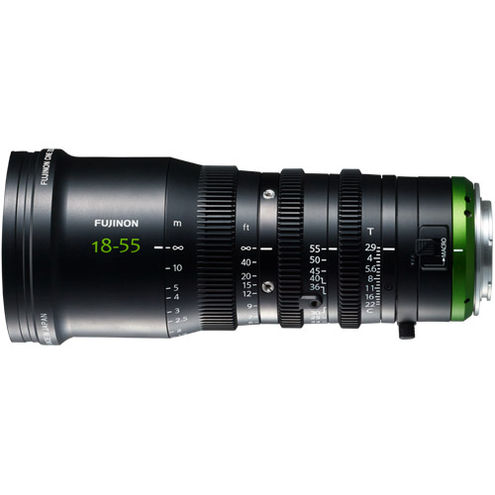 MK18-55mm, T2.9, E-Mount 4K lens
