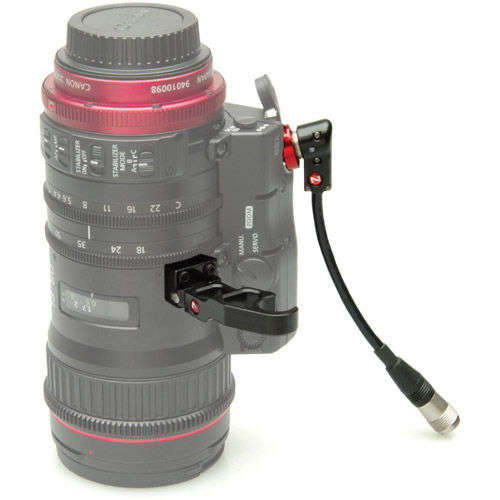 18-80 Lens Support & Right Angle Cable