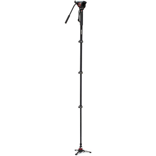 XPRO Plus Video Monopod With MVM500 Fluid Head