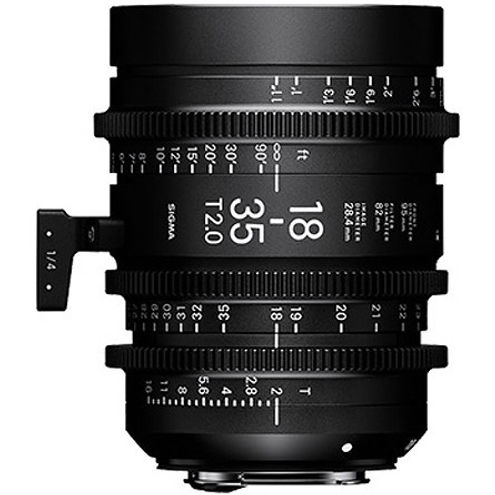 18-35mm T2 + 50-100mm T2 Cine Lens for Canon EF Mount w/ Case PMC-001 Super 35mm Format