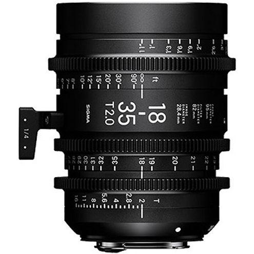 18-35mm T2 + 50-100mm T2 Cine Lens for PL Mount w/ Case PMC-001 Super 35mm Format
