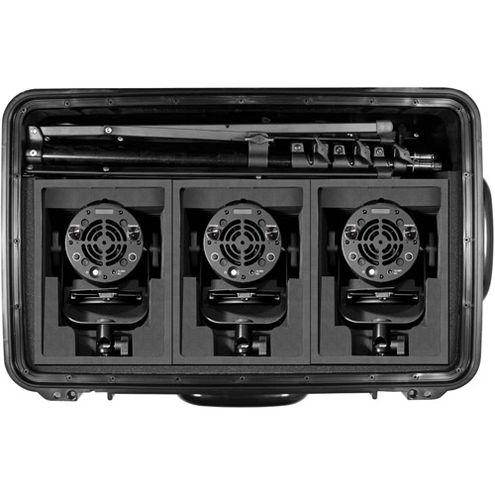 K301PP Pro Plus 3 Light P360 Pro Plus LED Interview Travel Kit