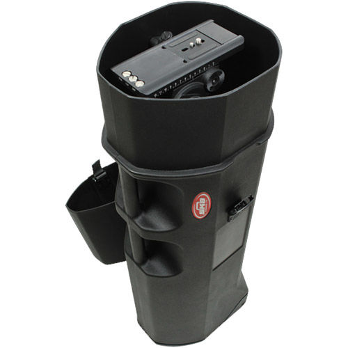"Roto-Molded Tripod Case with Wheels (37"" Tall)"