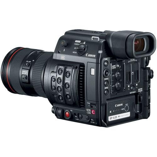 EOS C200 EF Cinema Camera and 24-105mm Lens Kit