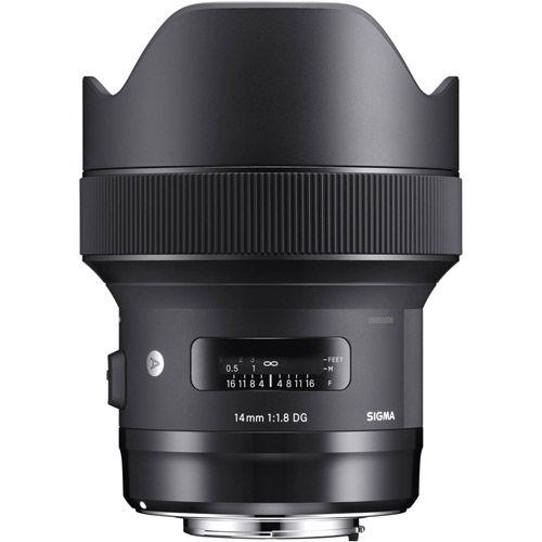 ART 14mm f/1.8 DG HSM Lens for Nikon