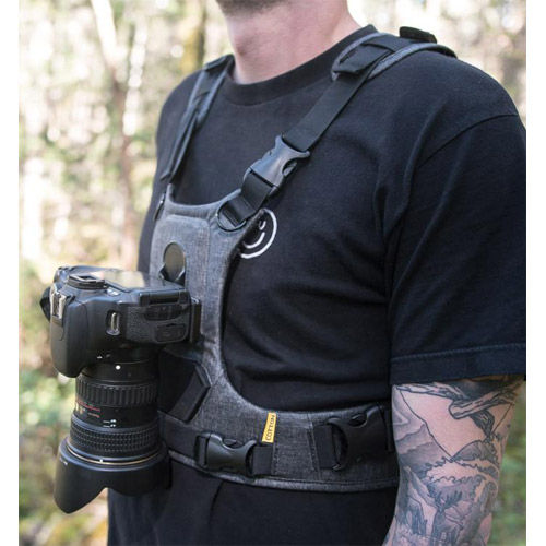 G3 Camera Harness for 1 Camera - Charcoal Grey
