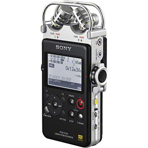 PCM-D100 High Resolution Portable Stereo Recorder