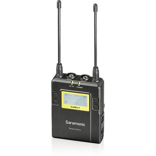 UwMic9 DTLK - Dual TX LAV Kit (2 x TX9 + 1 x RX9) - UHF Wireless Mic System