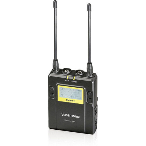 UwMic9 STLK - Single TX LAV Kit (1 x TX9 + 1 x RX9 ) - UHF Wireless Mic System