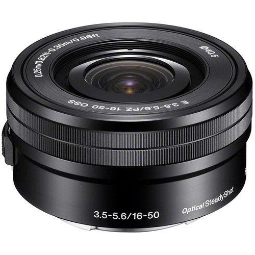 Alpha A6500 Mirrorless Black Kit w/ SEL 16-50mm PZ & SEL 55-210mm Lenses
