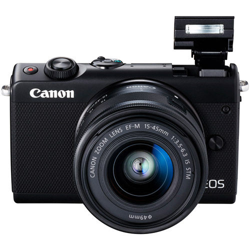 EOS M100 with 15-45 Kit Black