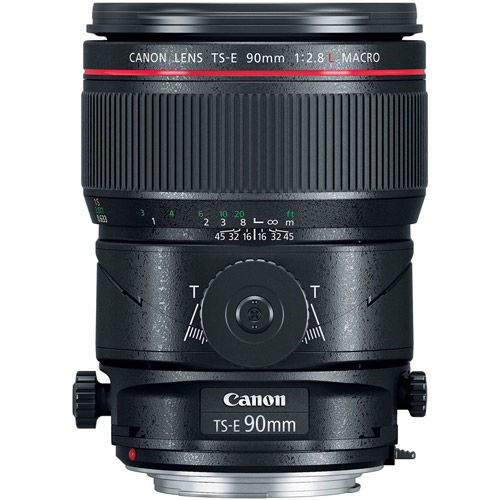 TS-E 90mm f/2.8L Macro Tilt-Shift Lens