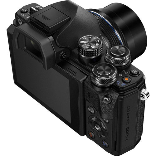 OM-D E-M10 Mark III Mirrorless Kit Black w/ 14-42mm EZ Lens(inc Bag and 16GB Class 10 SD Card)