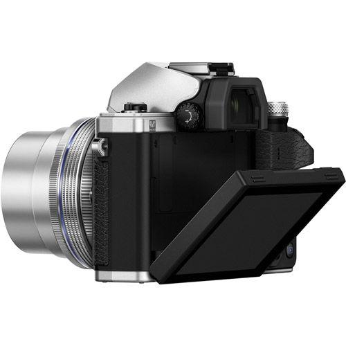 OM-D E-M10 Mark III Mirrorless Silver Kit w/ 14-42mm EZ Lens(inc Bag and 16GB Class 10 SD Card)