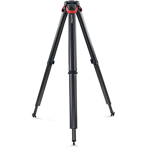 System FSB 8 Fluid Head With Flowtech 75 Tripod, Mid-Level Spreader, Rubber Feet And Bag