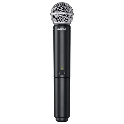 BLX24 Vocal Wireless System With SM58 Mic (J10: 584 - 608 MHz)