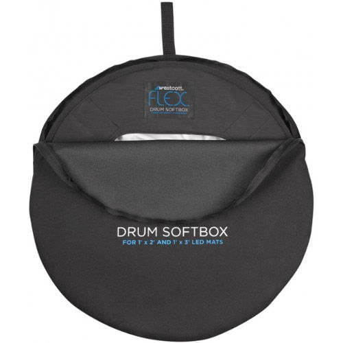 Flex Drum Softbox for 1' x 2' and 1' x 3' Mats