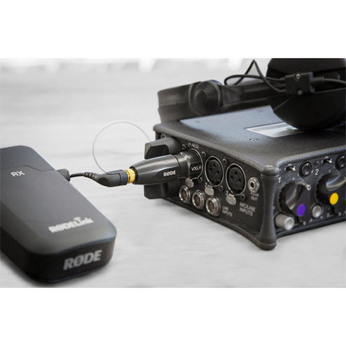 VXLR Plus - 3.5mm to XLR Adapter with Power Converter