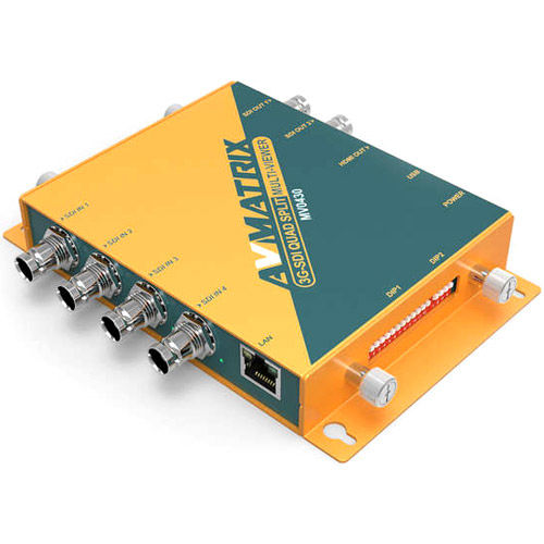 3G-SDI Quad Spilt Multiviewer
