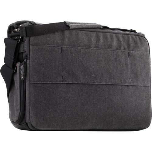 Cooper 15 Slim Messenger Bag - Gray