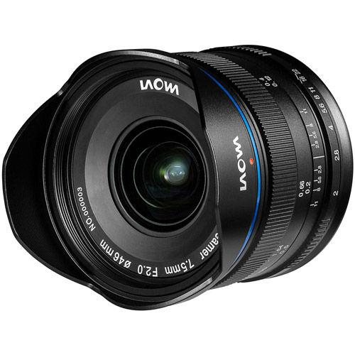 7.5mm f/2.0 mFT Mount Manual Focus Lens