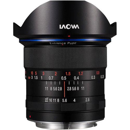 12mm f/2.8 Zero-D Sony FE Mount Manual Focus Lens